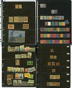Escandinavia - Colección en el álbum de Stanley Gibbons
