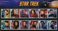 Grande-Bretagne - Star Trek - Présentation Souvenir