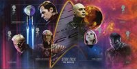 Great Britain - Star Trek - Mint souvenir sheet