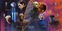 Grande-Bretagne - Star Trek - Bloc-feuillet neuf