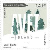 Andorre Francais - Avet Blanc - Timbre neuf