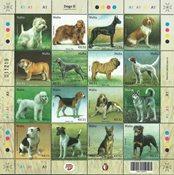 Malta - Hunde 2020 - Postfrisk ark