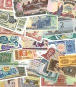 Diverse lande - 23 forskellige pengesedler