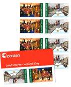 Norge - Julen 2020 - Postfrisk frimærkehæfte
