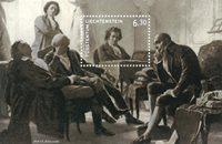 Liechtenstein - Ludwig van Beethoven 250 ans - Bloc-feuillet neuf