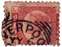 Great Britain - Halfpenny red - Plate 15 - Cancelled