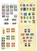 Etelä-Afrikka - kokoelma 1953-85 kansiossa