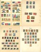 Hongrie - Collection 1871-1956 dans un album