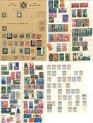 Italia - Erä postimerkkejä vuosilta 1863-1960