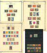 Etats de Malaysie/Sélangor - Composition avec 65 timbres 1895-semi-moderne
