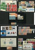 Saint Marin - Collection sur 7 cartes de classement - quelques doublons