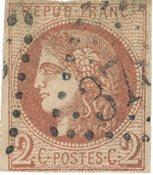 Frankrig 1870 - YT 40B - Stemplet