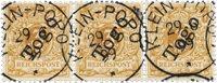 Tyske kolonier 1898 - Michel 1e - Stemplet