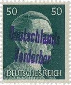 Tyskland Zoner 1945 - Michel 18 - Postfrisk