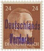 Tyskland Zoner 1945 - MICHEL 13 - Postfrisk