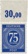 Tyskland Zoner 1946 - Michel 934bb POR - Postfrisk