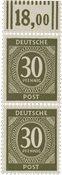 Tyskland Zoner 1946 - Michel 928a WOR - Postfrisk