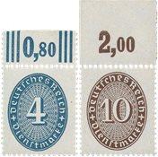 Tyskland - Tyske Rige 1927/1933 - MICHEL D130/131 - Postfrisk
