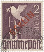 Allemagne/Berlin 1949 - Michel 34 - Oblitéré