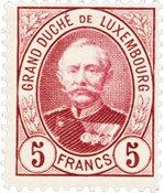 Luxembourg 1891 - Michel 66 - Neuf