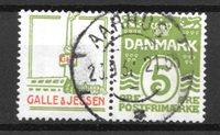 Danimarca  - Rekl. AFA 44 - timbrato