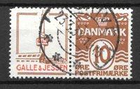 Danimarca  - Rekl. AFA 43 - timbrato