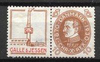 Danimarca  - Rekl. AFA 41 - nuovo linguellato