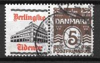 Danimarca  - Rekl. AFA 30 - timbrato