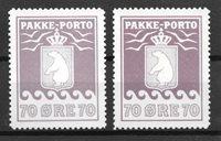 Grønland  1936 - AFA 13 + 13a - Postfrisk
