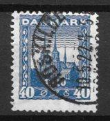 Danimarca 1921 - AFA 116x - timbrato