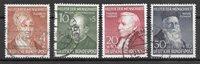 Allemagne 1952 - AFA 1119-22 - Oblitéré