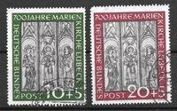 Allemagne 1951 - AFA 1102-03 - Oblitéré