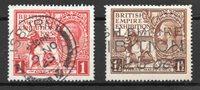 England 1925 - AFA 162-63 - Stemplet
