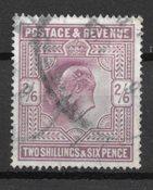 England 1902 - AFA 114 - Stemplet
