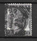 Grande Bretagne 1880 - AFA 62 - Oblitéré