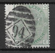 England 1873 - AFA 46 - Stemplet
