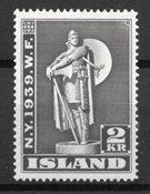 Island 1939 - AFA 209 - Postfrisk