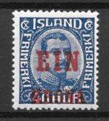 Island 1926 - AFA 121 - Postfrisk