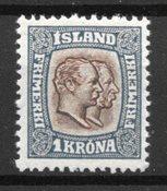 Islande 1907 - AFA 60 - Neuf