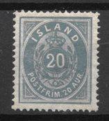Islande 1882 - AFA 14 - Neuf avec charnières