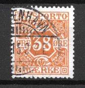 Danemark 1914 - Av. 18 - Oblitéré