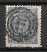 Danimarca 1879 - Tj. 5a - timbrato