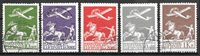 Danimarca 1925 - AFA 144-46+181-82 - timbrato