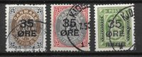 Danemark 1912 - AFA 60-62 - Oblitéré