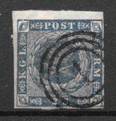 Danimarca 1855 - AFA 3 - timbrato