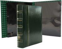 Optima Classic XL album + lommer - Grøn