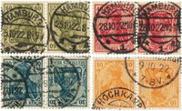 Empire Allemand 1910/1912 - Michel K1/4 - Oblitéré