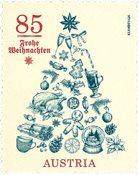 Autriche - Arbre de Noël - Timbre neuf