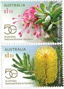 Australien - Botaniske haver - Postfrisk sæt 2v