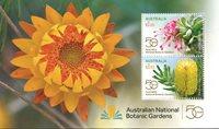 Australien - Botaniske haver - Postfrisk miniark
